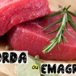 Carne vermelha e emagrecimento